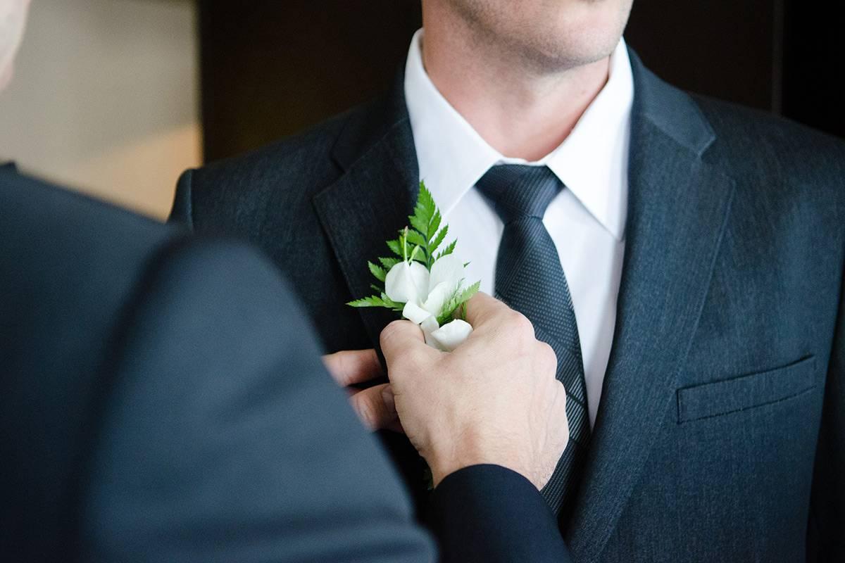Der perfekte Hochzeitsanzug