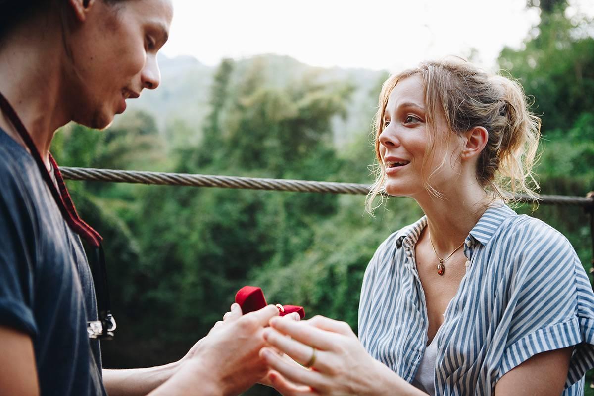 Glückwünsche zur Verlobung